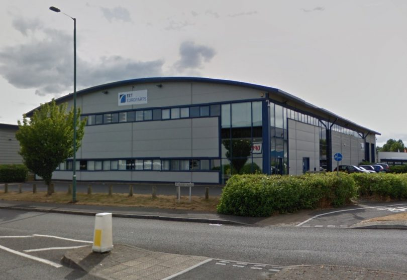 The building is currently let to EET Europarts Ltd on a five-year lease. Photo: Google Street View