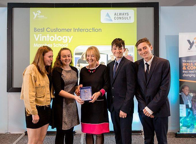 Vintology won the 'Best Customer Interaction Award'