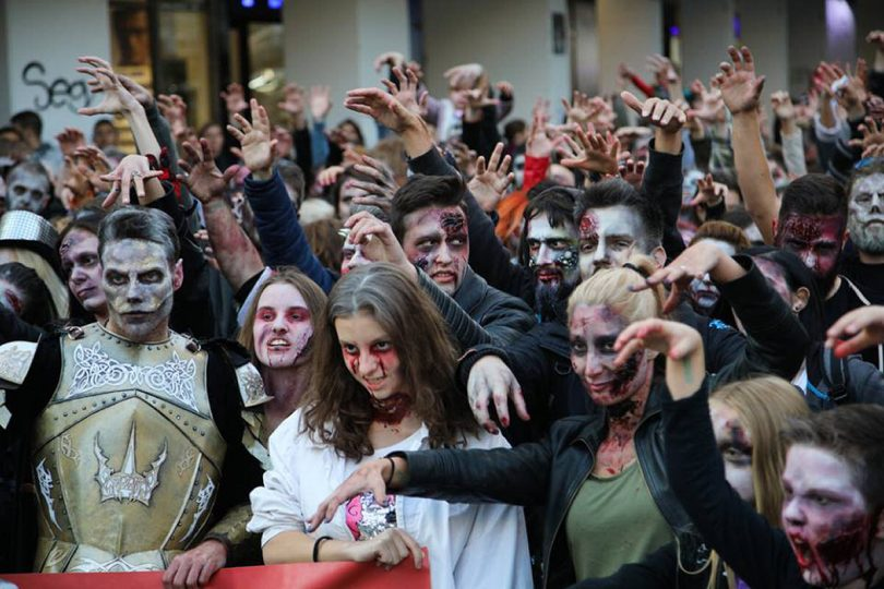 A Zombie Walk will turn the town into a twilight zone on Saturday