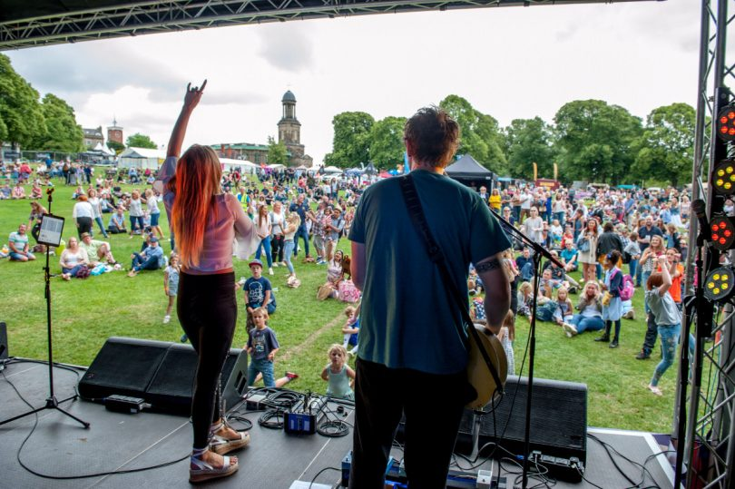 Visitors to Shrewsbury Food Festival will be able to enjoy live music