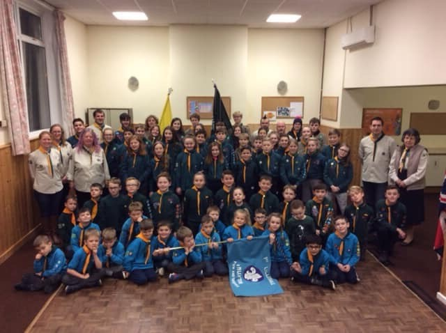 1st Lilleshall & Muxton Scout Group celebrating their 40th year