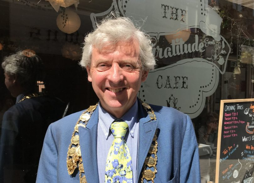 Cllr Anthony Lowe, the new Mayor of Wellington