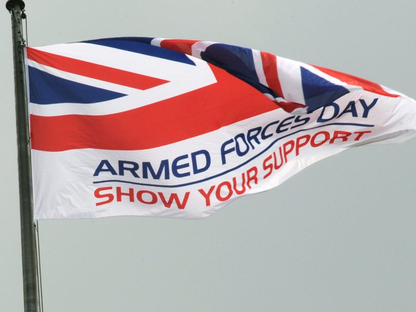 Armed Forces Day takes place on Saturday 29 June. Photo: ©UK MOD Crown Copyright 2019