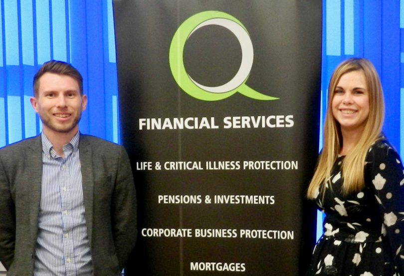 Ben Wootton and Hannah Jennings have joined Q Financial Services as mortgage and protection advisers