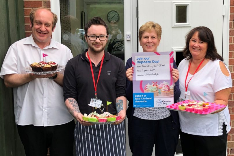 Willow Lodge is supporting the Alzheimer's Society Cupcake Day on Thursday 13 June