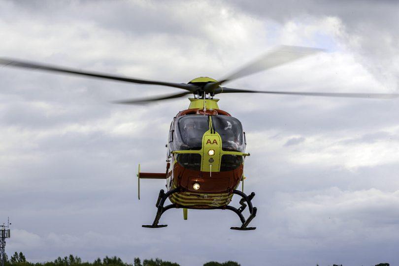The Midlands Air Ambulance Photo: MAA Charity