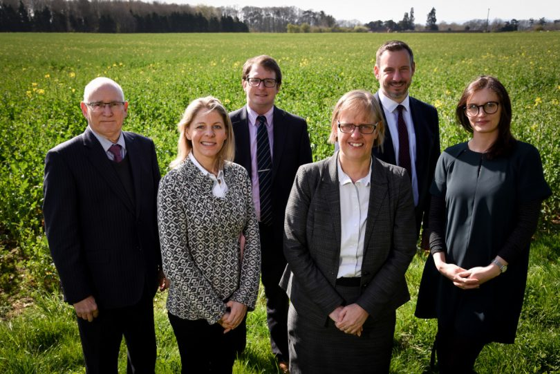 FBC Manby Bowdler's Agricultural & Rural Services Team Steven Corfield, Anna Russell, Oliver Evans, Sarah Baugh, Tom Devey and Georgia Davies