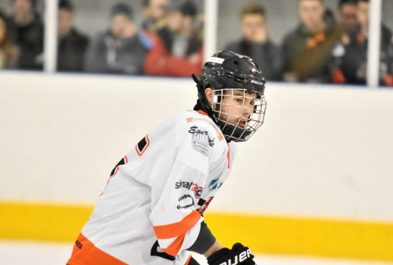 Finn Howles will play for Telford Tigers next season. Photo: Telford Tigers / Steve Brodie