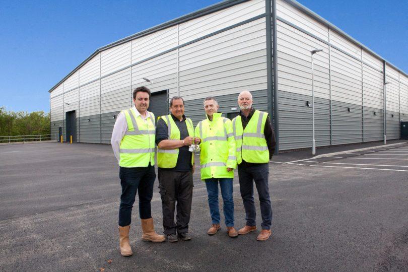 Gareth Edwards, Dave Fletcher, Martin Davies and Ian Carswell