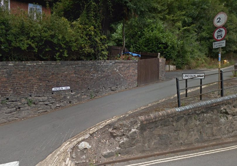 Drivers are ignoring restricted access signs including at Lincoln Hill in Ironbridge. Photo: Google Street View