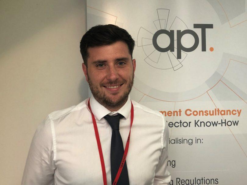 apT's Highways Development Manager Nick McGurk