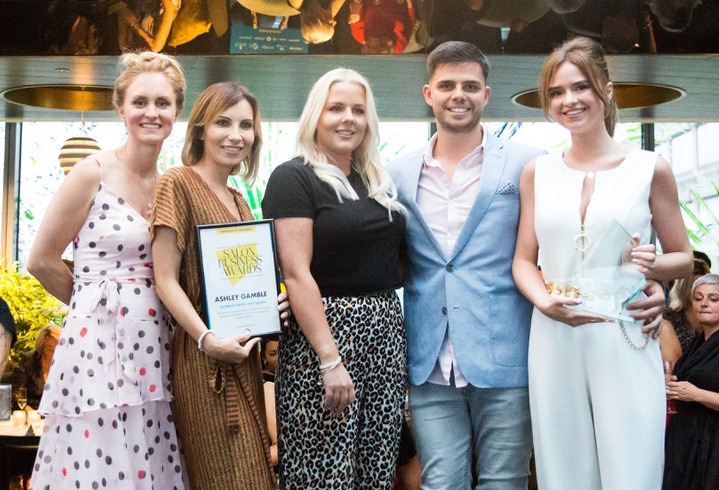 Ashley Gamble took home the top accolade in the national Salon Business Awards