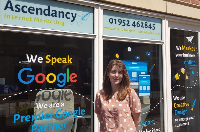 Bethan Evans has joined the team at Ascendancy Internet Marketing