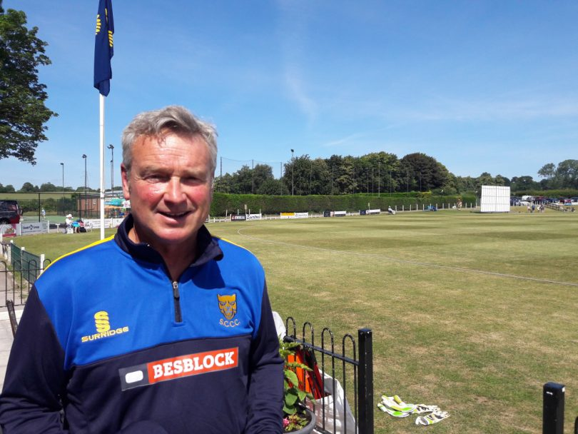 Bryan Jones, Shropshire's chairman of selectors, wants Shropshire to start climbing the Western Division table