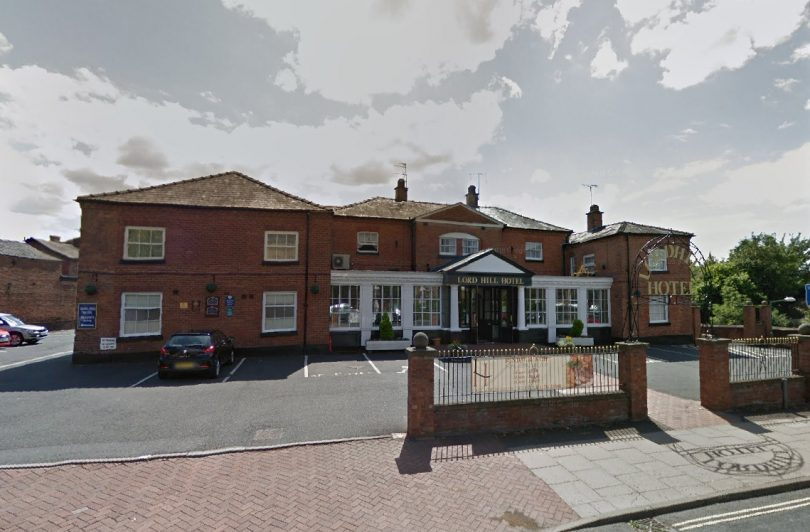 The Lord Hill Hotel in Shrewsbury. Image: Google Street View