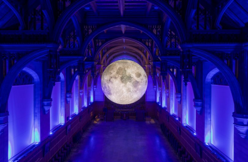 Museum of The Moon by Carolyn Eaton