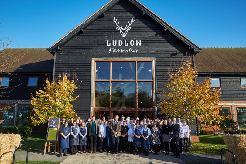 The Ludlow Farmshop team