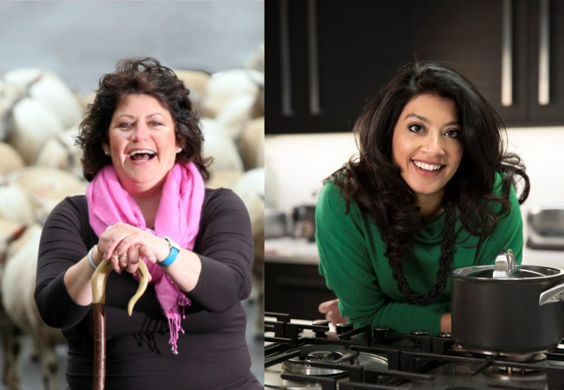 Rachel Green (photo: michaelpowell.com) and Mallika Basu are to headline this year's Ginger and Spice Festival