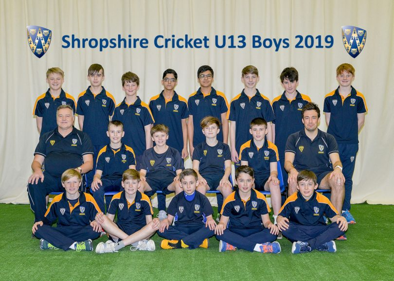 Shropshire Under 13s Boys. Photo: Brian Clarke, Kidz In Sport.