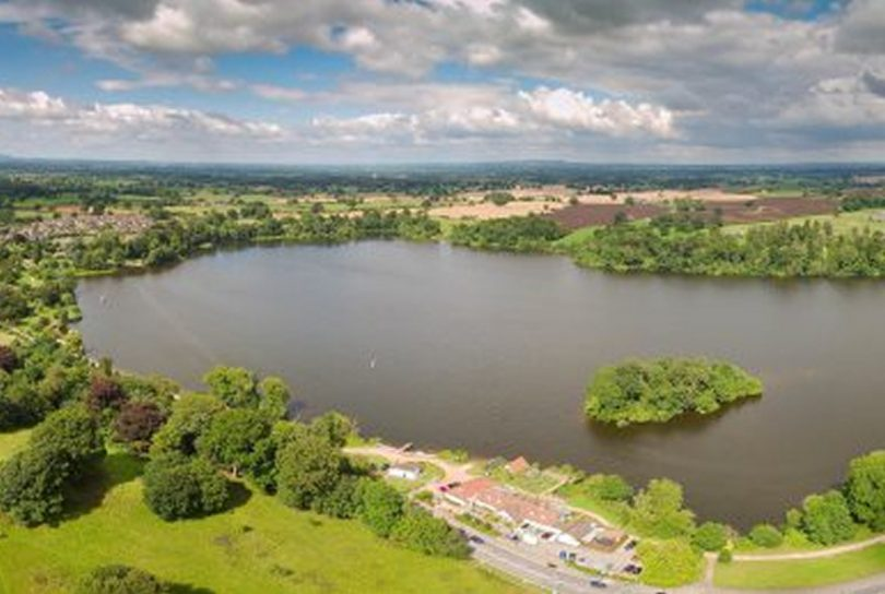 The Mere at Ellesmere. Photo: Shropshire Council
