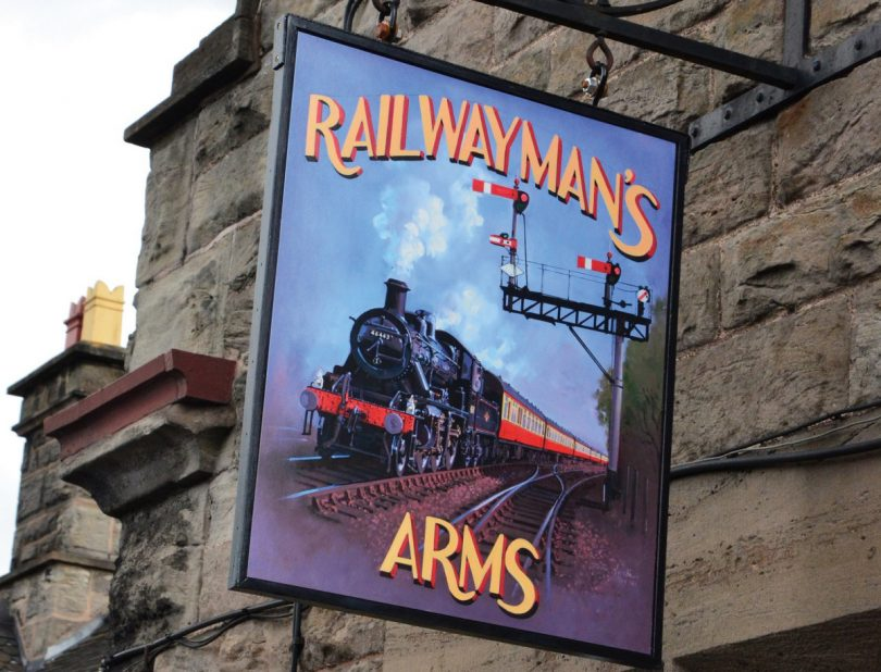 The Railwayman's Arms at Bridgnorth