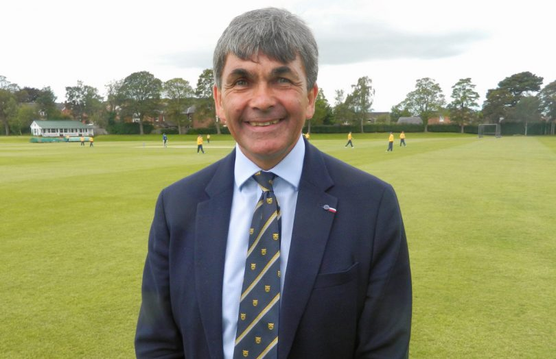 Toby Shaw will stand down as Shropshire County Cricket Club chairman at December's AGM