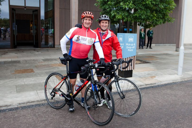 Brothers Robin and Chris Morris, will be joined by colleagues and fellow business people as they tackle a 150 mile charity bike ride
