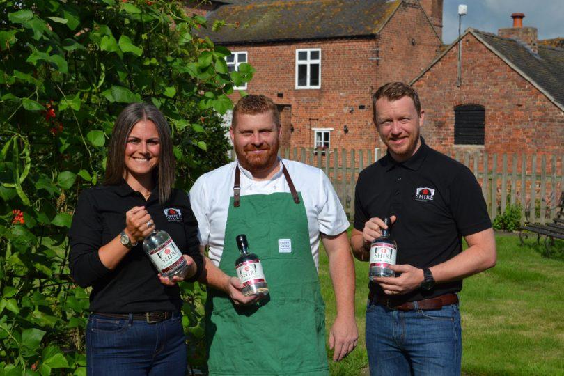 Emma Glynn Shropshire Distillery, James Sherwin Wild Shropshire and Gareth Glynn Shropshire Distillery