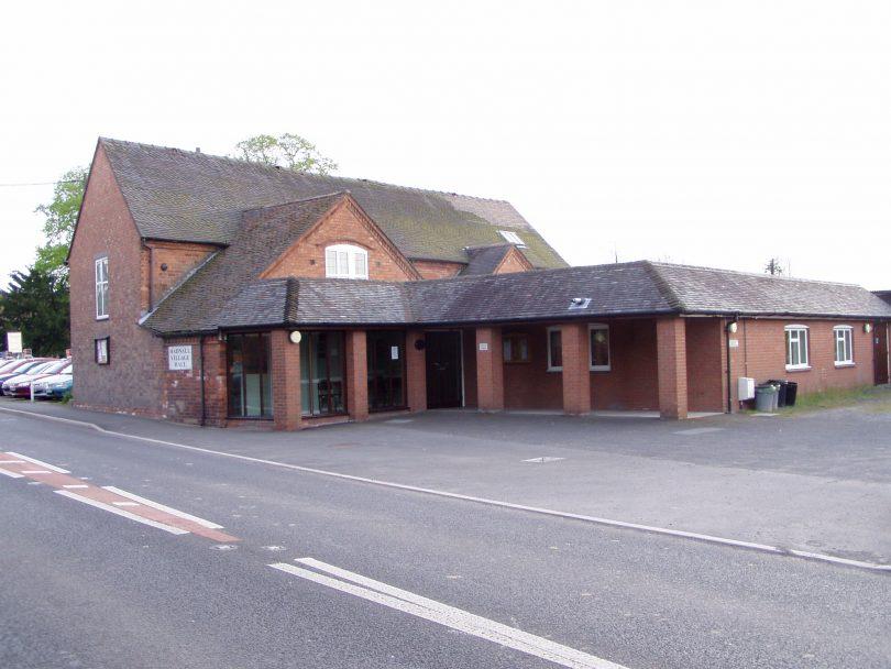 Money raised will help fund the future of Hadnall village hall