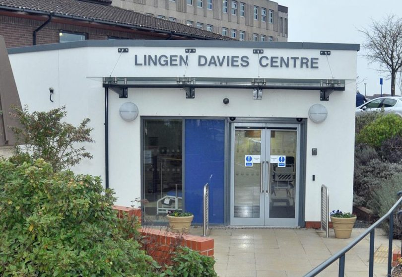 The radiotherapy department is based in the Lingen Davies Centre at RSH
