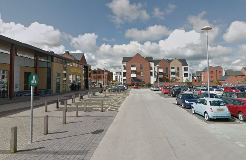 Restrictions could be introduced at the car park in Lawley Village. Image: Google Street View