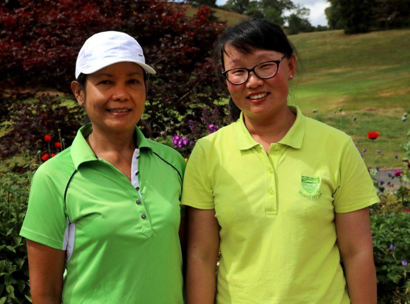 Marlyn Radford and Jing Reade