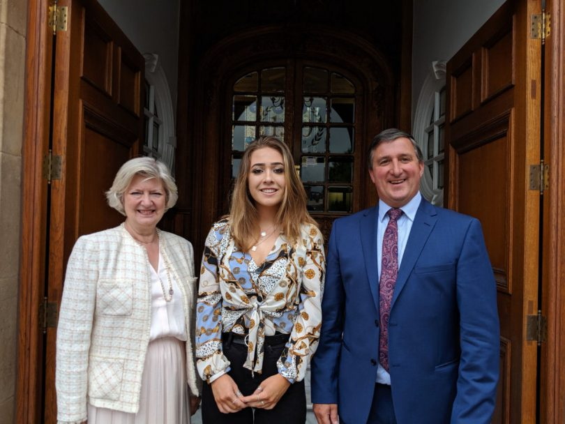 Professor Anna Sutton UCS, Paige Eades Morris Scholar and Robin Morris Chairman of Morris & Co