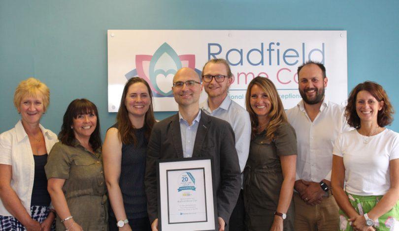 Shrewsbury Based Radfield Home Care - National Office Team