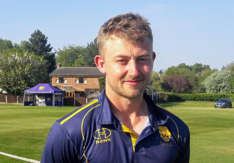 Shrewsbury spinner Tyler Ibbotson returns to the Shropshire side for the match against Wiltshire
