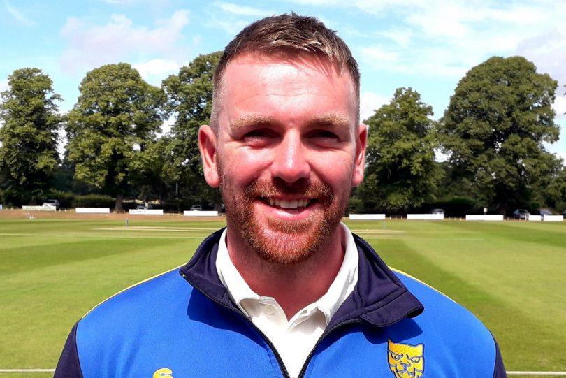 Wicketkeeper Matt Swift hit an unbeaten 92 for Shropshire in the first innings