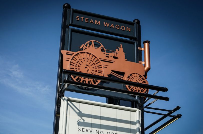 The Steam Wagon