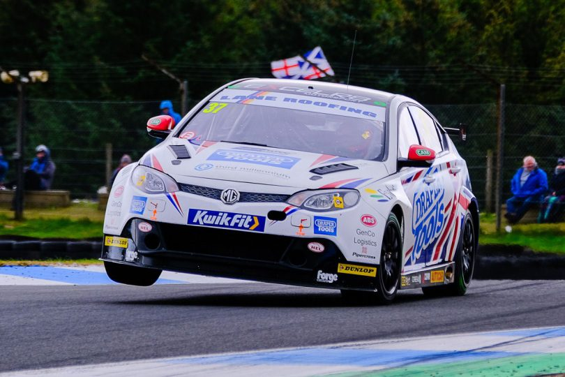 Touring car racer Rob Smith progresses well on first visit to Knockhill: Photo: DSdigital/Dickon Siddall