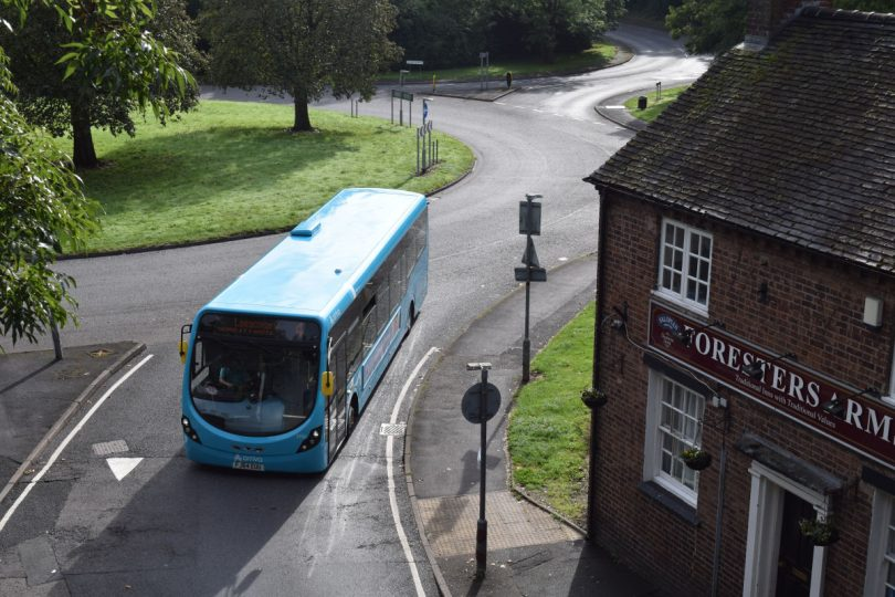 As part of the scheme passengers will see the roll-out of refurbished buses. Photo: Arriva Midlands