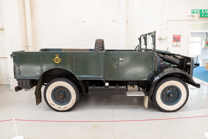 The truck can be seen on display alongside aircraft and other vehicles at RAF Museum Cosford. Photo: ©Trustees of the Royal Air Force Museum