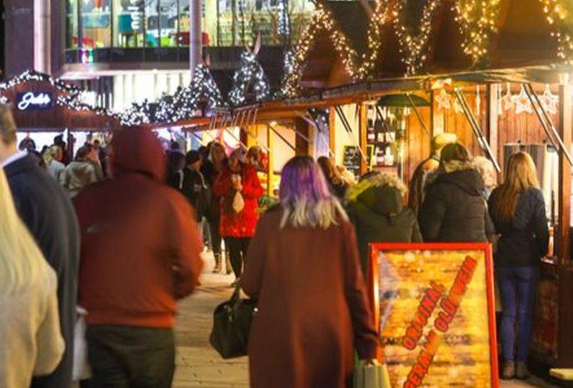 Telford Christmas Market returns. Photo: Telford & Wrekin Council