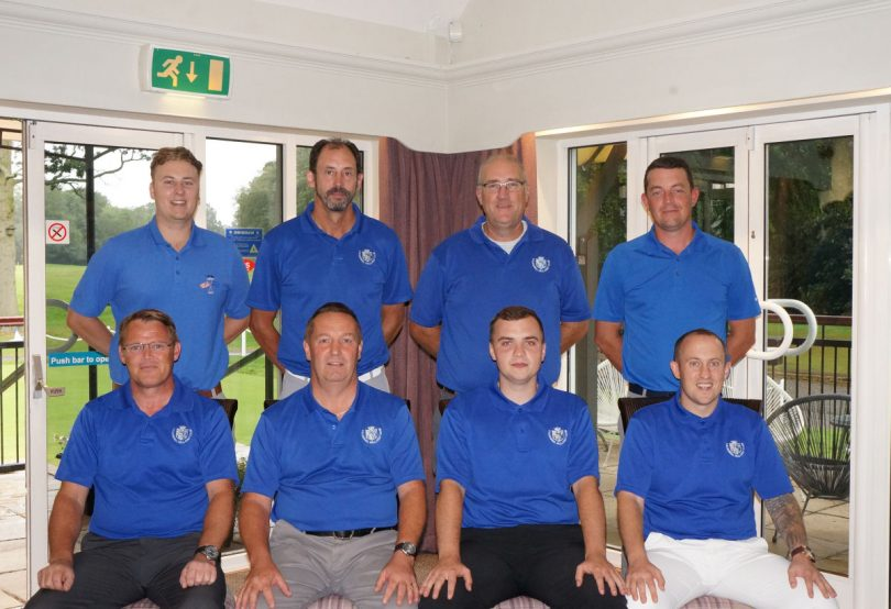 Members of the Lilleshall Hall Golf Club Handicap league team