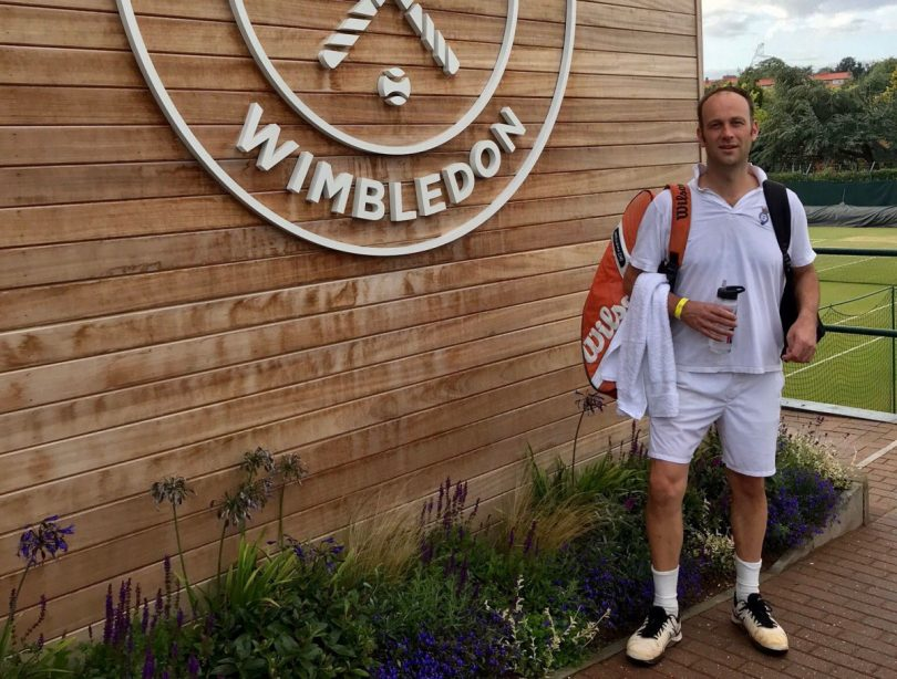 Hugh Jaques is one of four players chosen to represent Great Britain's over-40s team in the International Tennis Federation's Young Seniors World Championships in Miami