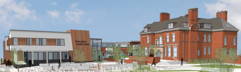 A view of how the Pauls Moss development would look