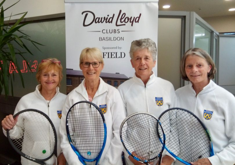 Shropshire's over-65s ladies can look forward to life in division one next year