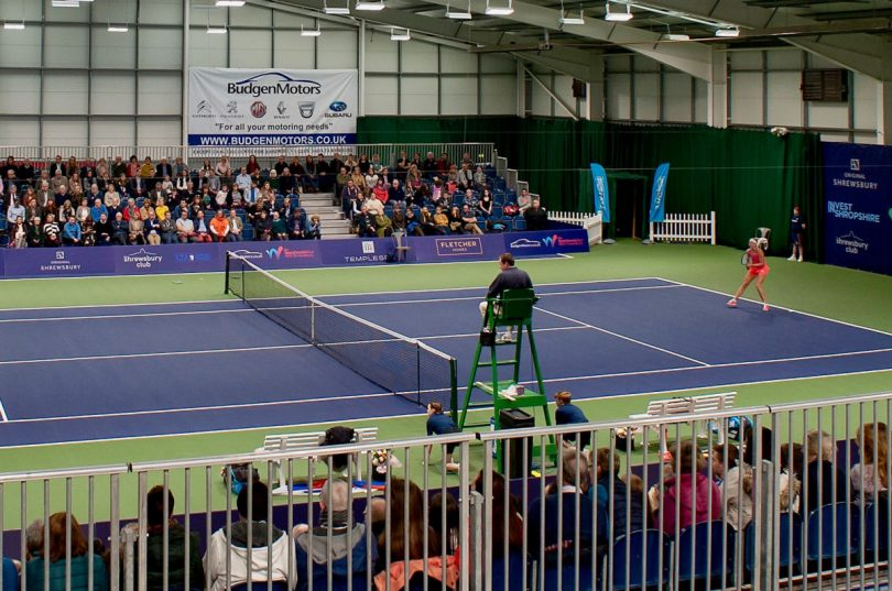 The Shrewsbury Club regularly hosts top international tennis tournaments for both men and women