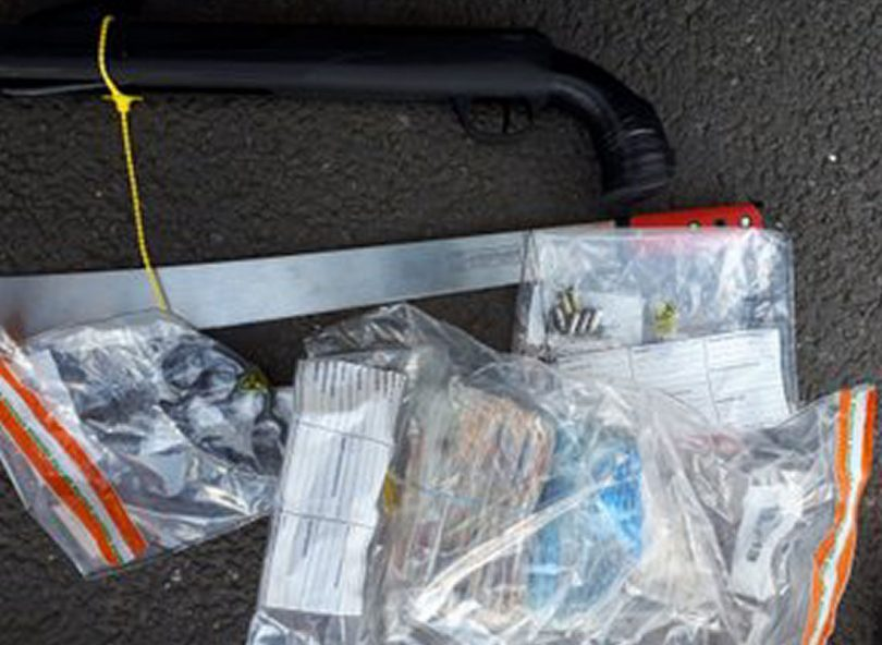 Some of the items seized by police as part of the operation. Photo: West Mercia Police