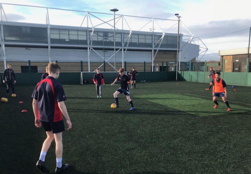 Shrewsbury Town in the Community's Premier League Kicks sessions
