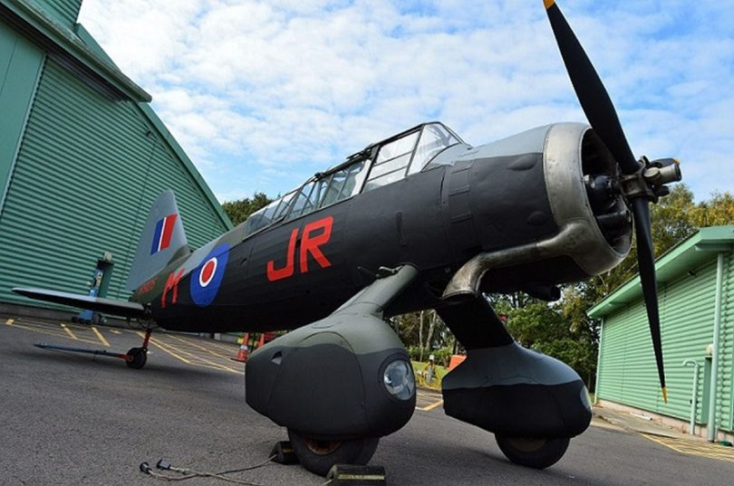 The restored Westland Lysander III (S.D.). Photo: ©Trustees of the Royal Air Force Museum