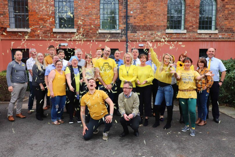 Shropshire Homes celebrate raising £700 for mental health charity MIND